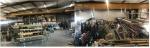 Entrepôt/atelier/bureaux - Location - 935m² - Publier